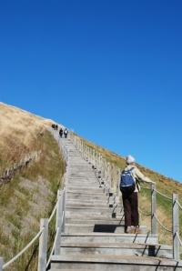 Escalier du puy de Pariou