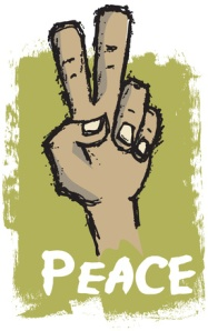 Peace Sign Language