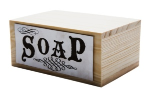Container of soap