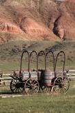 Antique Western American Wagon